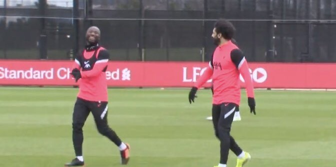 (Video) Liverpool handed huge boost as Naby Keita resumes training ahead of Champions League clash