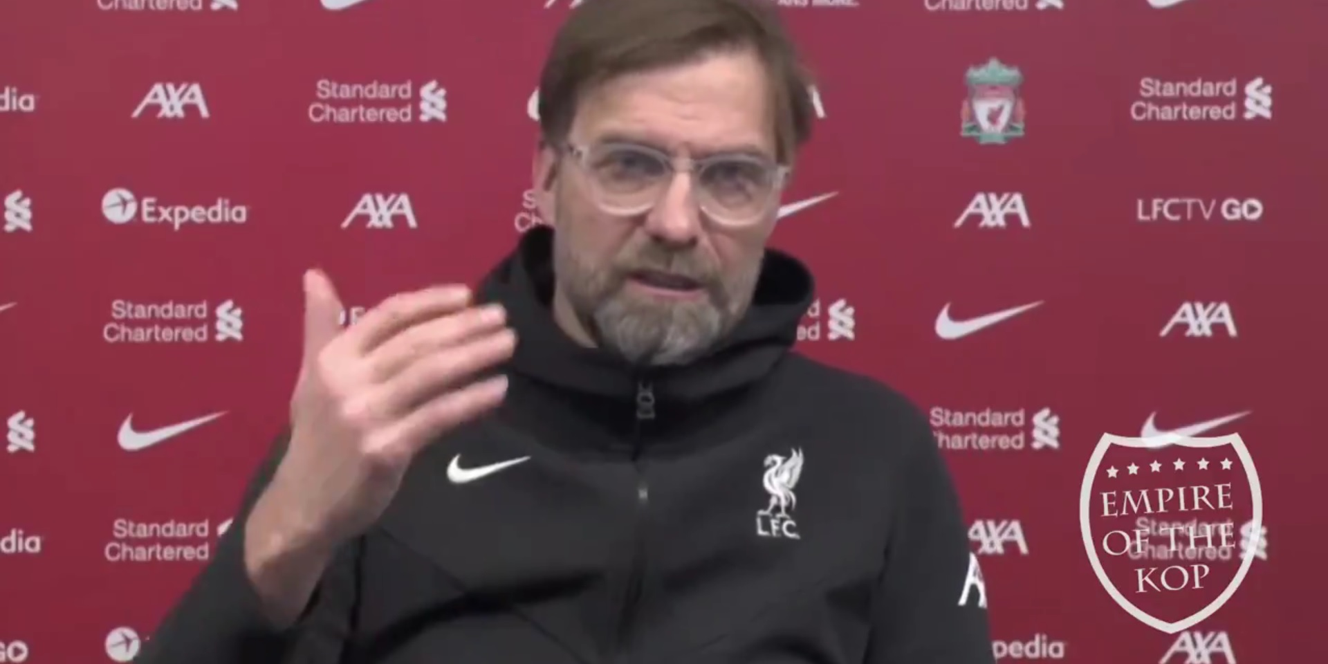 """(Video) Klopp says Ozan Kabak & Ben Davies """"have experience in adult football"""" in likely reference to Rhys Williams"""