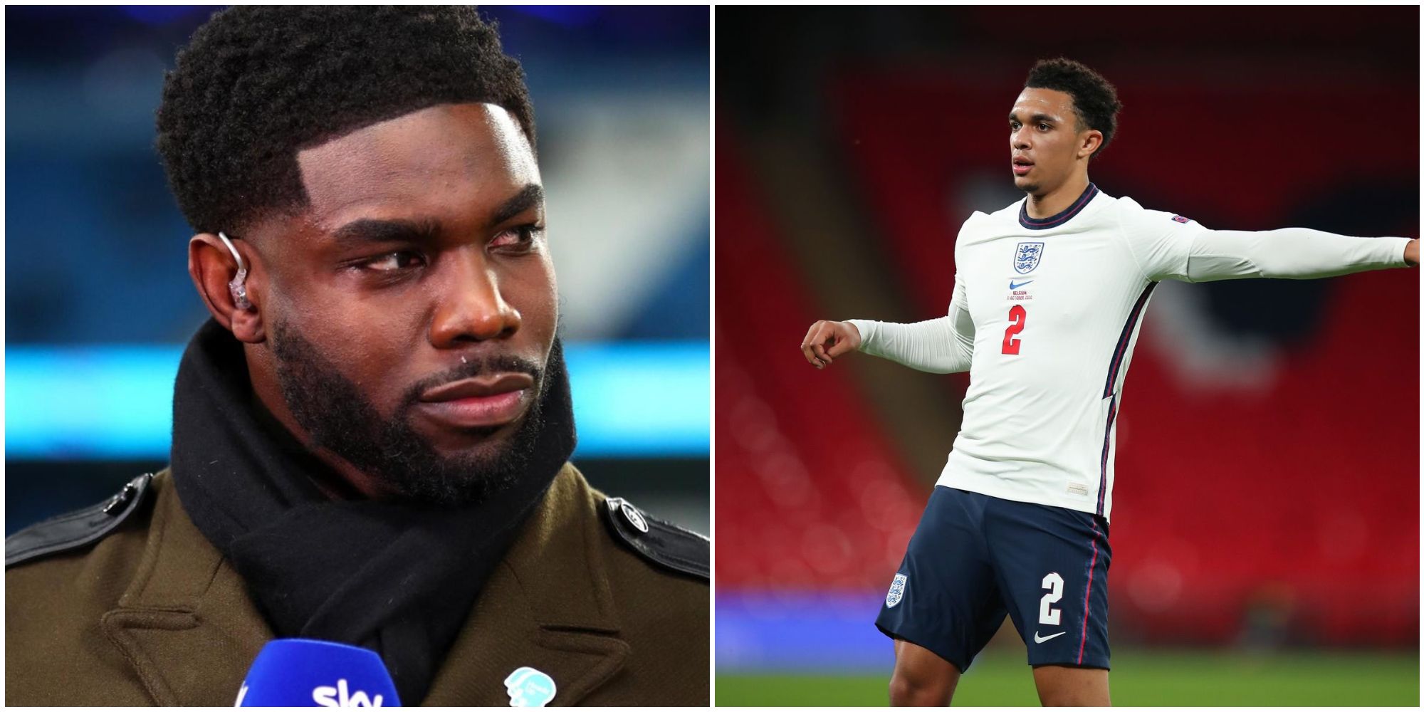 Micah Richards posts incredulous Instagram response to Trent's England snub: 'Still a top player!'