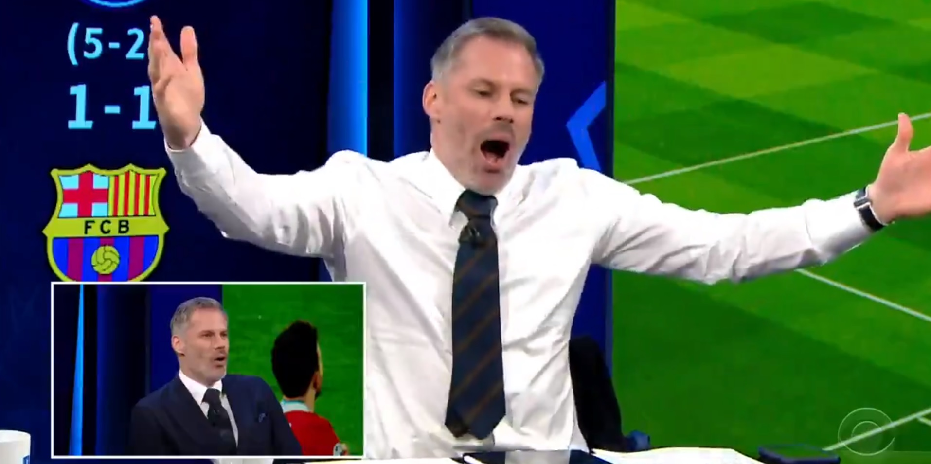 """(Video) """"We're going to Istanbul!"""" – Carragher's hilarious reaction to Liverpool's UCL victory"""