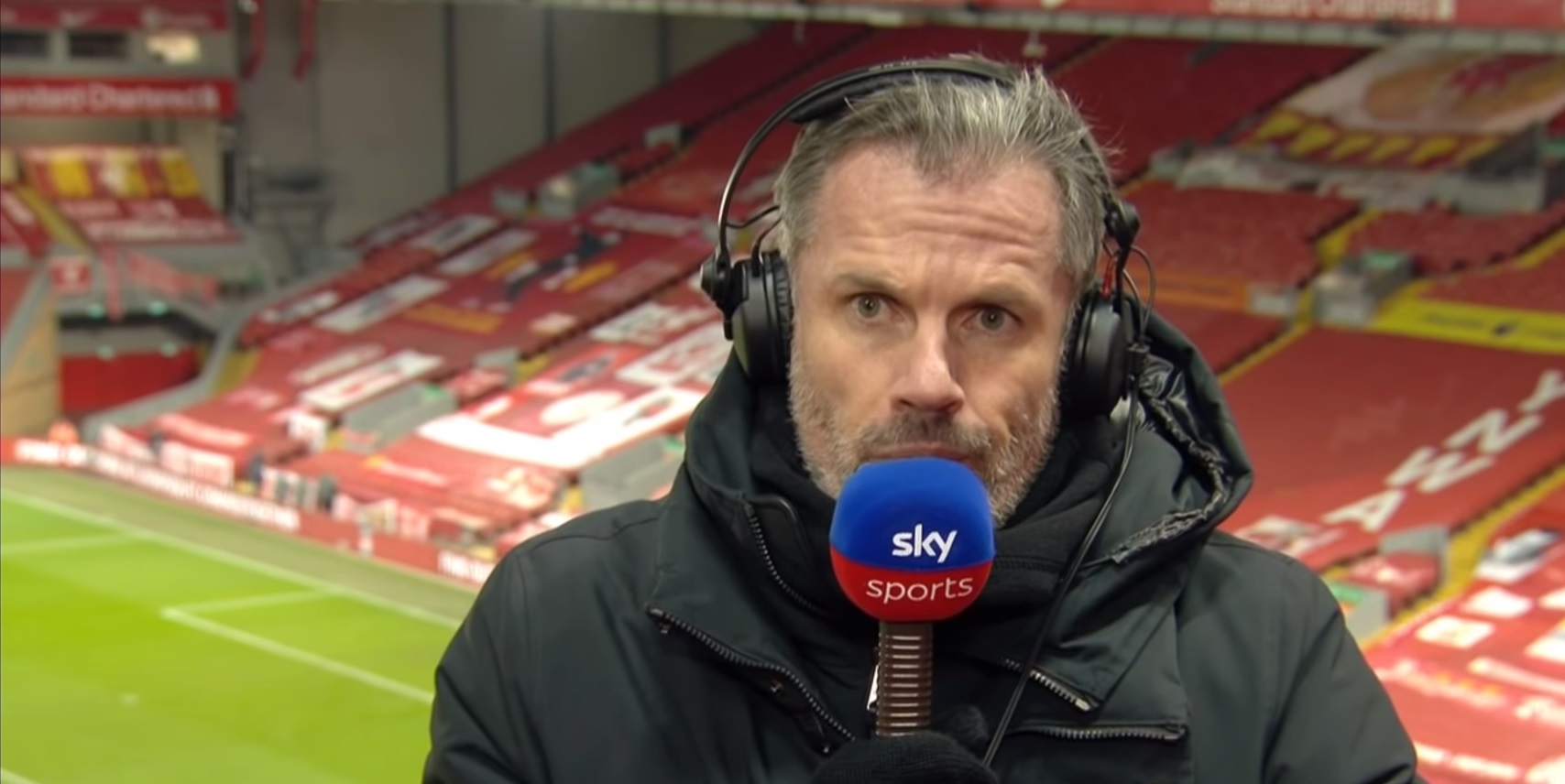 (Video) Carragher 'could not believe' when Klopp subbed Salah off in Chelsea clash