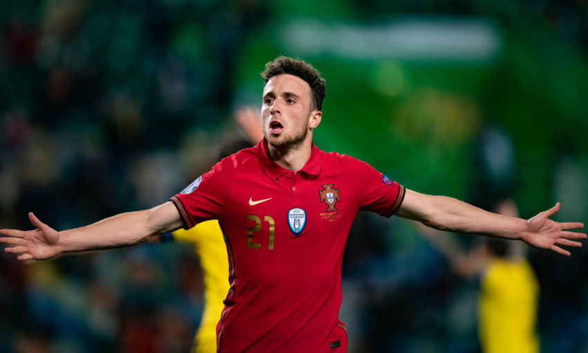 (Video) Diogo Jota scores for Portugal in six goal thriller at Euro 2020
