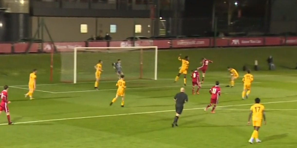 (Video) Liverpool starlet bags 22-minute hat-trick from the bench as dominant Reds net six in FA Youth Cup clash