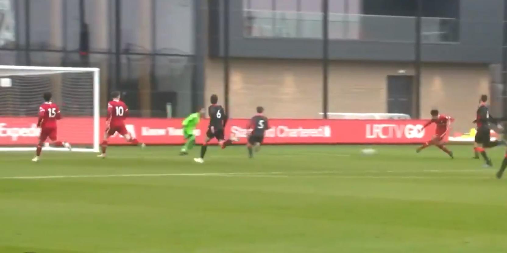 (Video) Starlet Kaide Gordon nets slick finish in 5-1 training ground romp