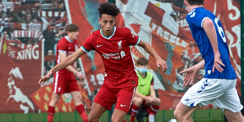 """Liverpool U18 coach lauds new-boy Kaide Gordon: """"We are seeing moments and flashes"""""""