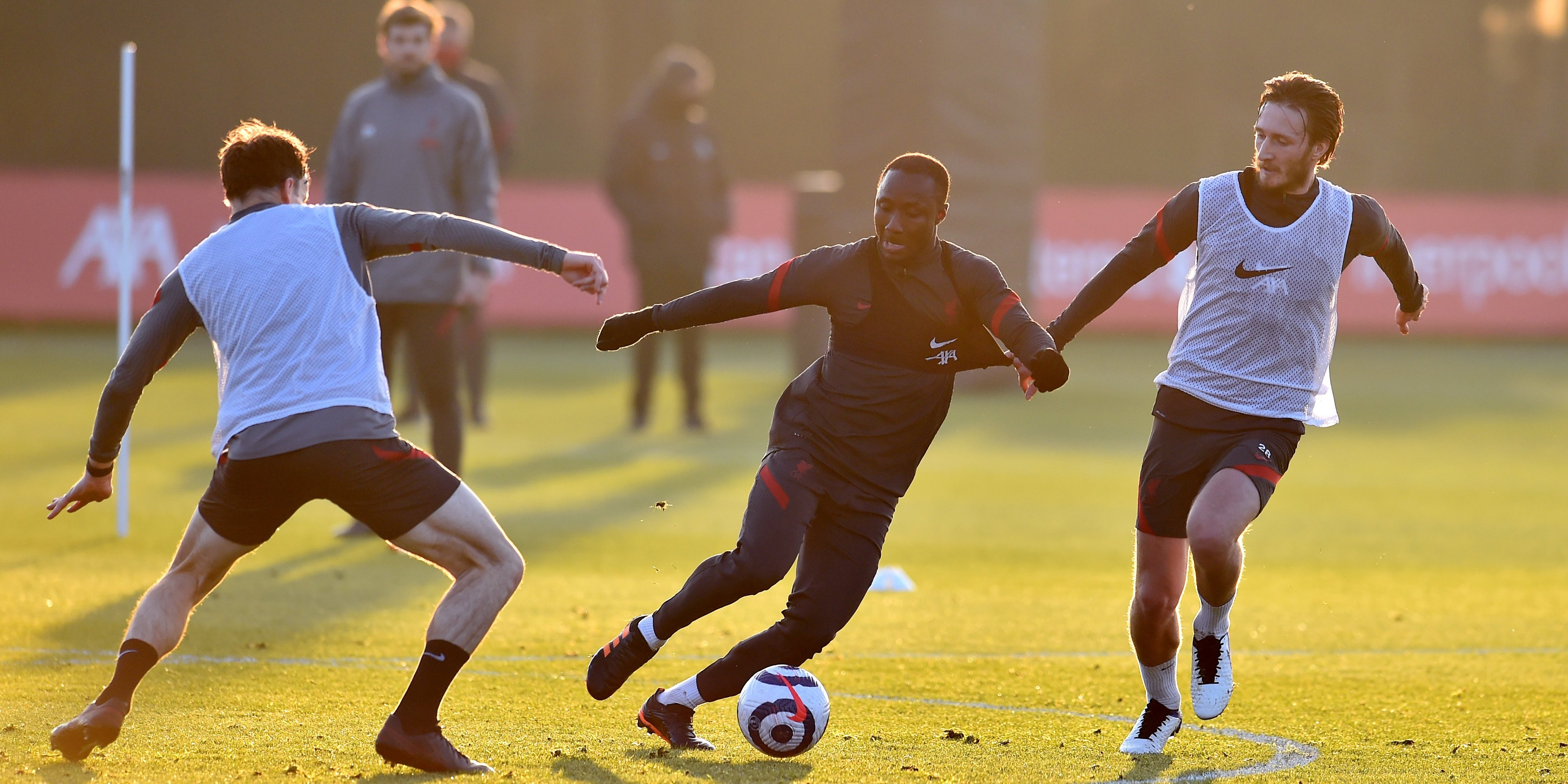 (Photos) Liverpool training images suggest triple injury boost for Reds ahead of pivotal Chelsea clash