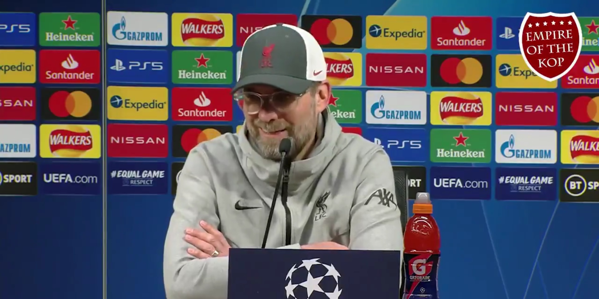 "Klopp throws down gauntlet in pre-Real Madrid press conference: ""I'm in the mood for this"""
