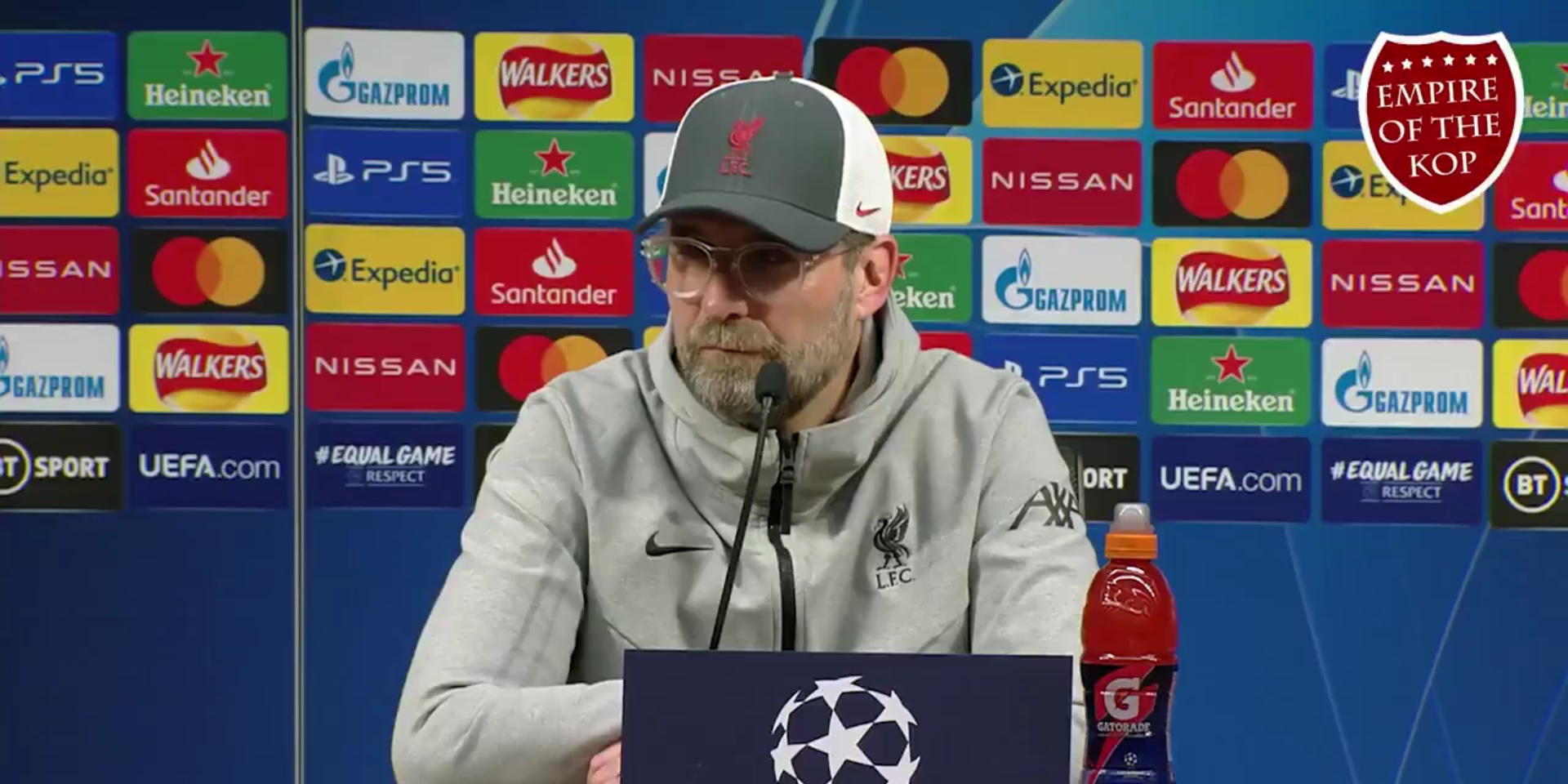 """(Video) Klopp sends warning to Zidane ahead of Champions League clash: """"We will go for it"""""""