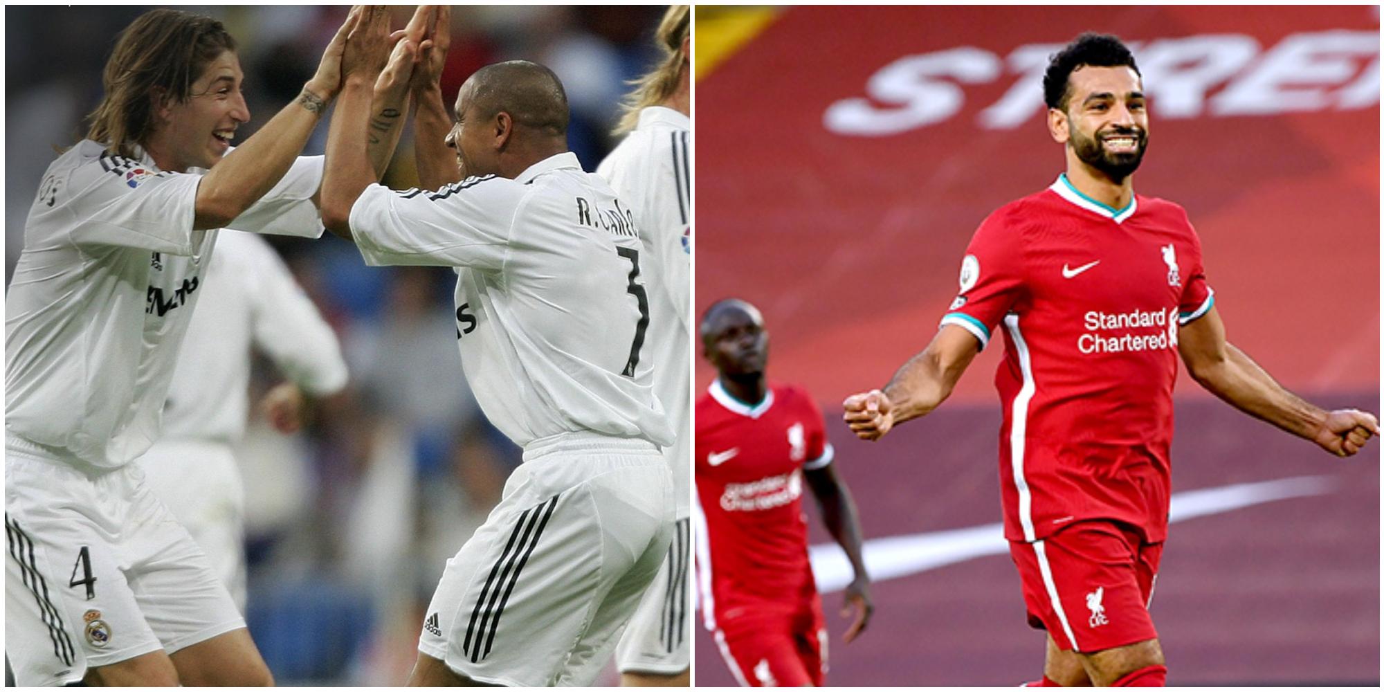 "Roberto Carlos makes bold Salah-Ramos claim: ""Salah is not even going to get close to Sergio"""