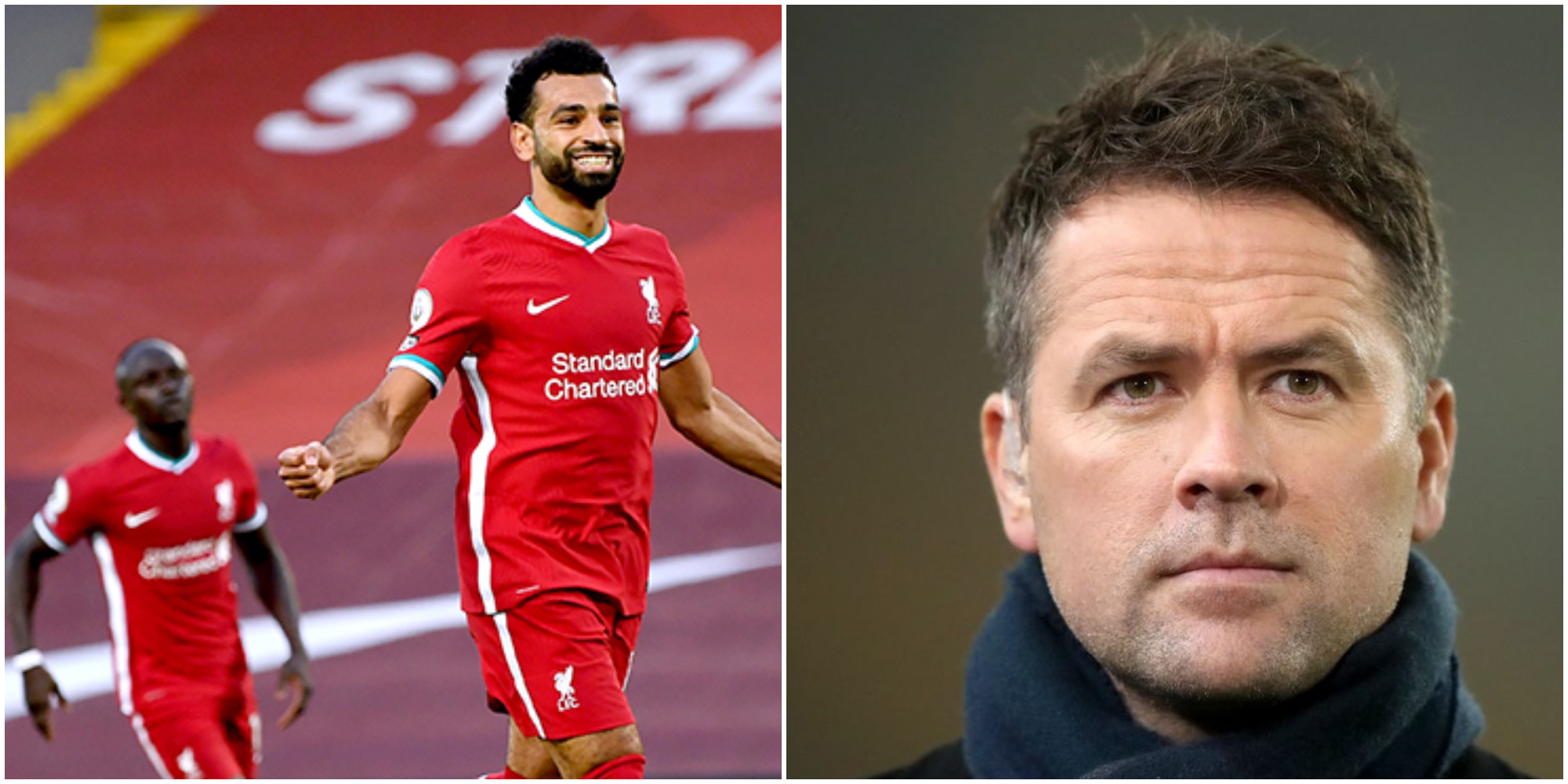 Owen suggests Mane didn't go to ground to stop Salah from getting another penalty