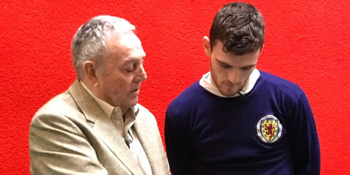 'True giant': Andy Robertson pays tribute to Liverpool legend Ian St John