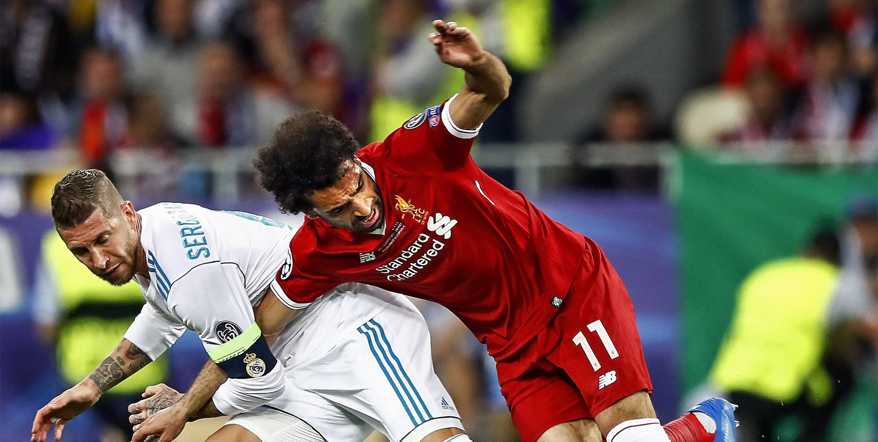 (Image) Marca release insulting front page of Ramos injuring Salah in Kiev UCL final
