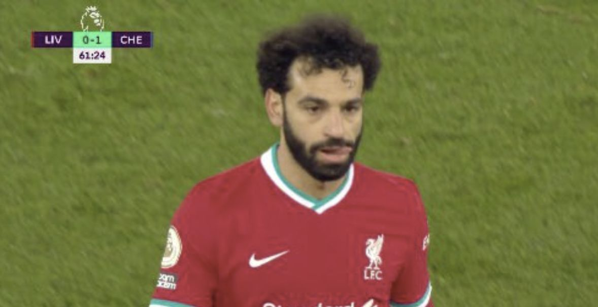 (Video) Mo Salah's two big chances created v Chelsea & why he was so fuming to be subbed