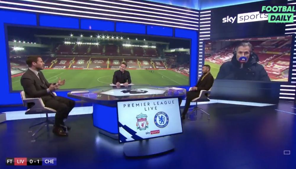 (Video) 'I am going mad…' Carra echoes Liverpool fan feeling in post-match analysis