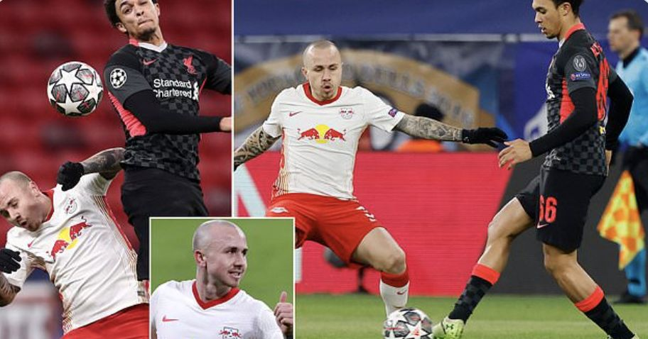 Rb Leipzig star Angelino calls out Daily Mail before Liverpool tie