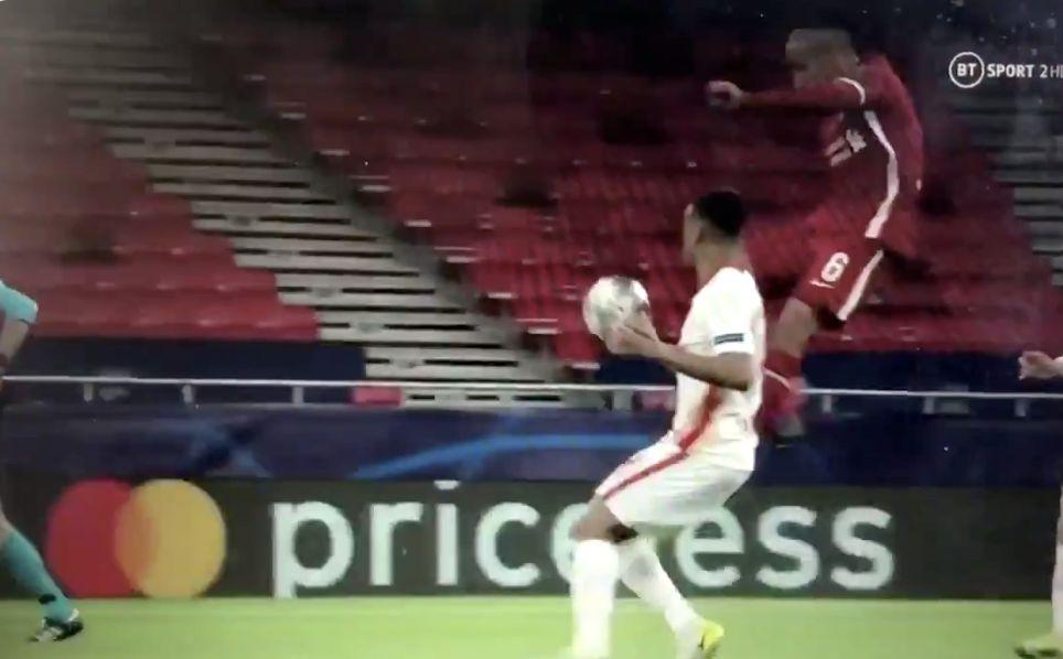 (Video) Wow: Thiago's insane Karate Kid Through-Ball leads to massive Liverpool chance
