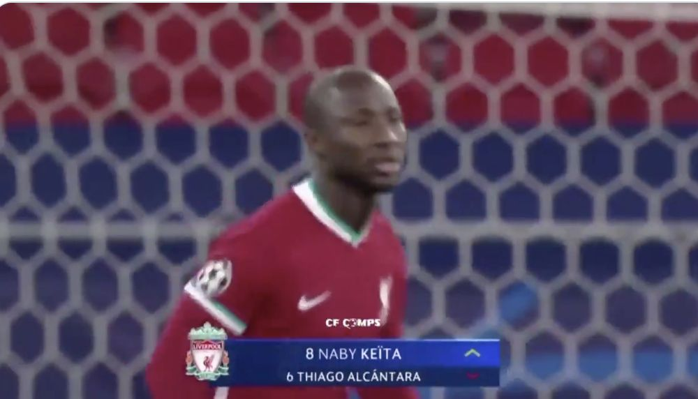 (Video) Wow: Naby Keita was touch perfect in his 19 minutes v Rb Leipzig