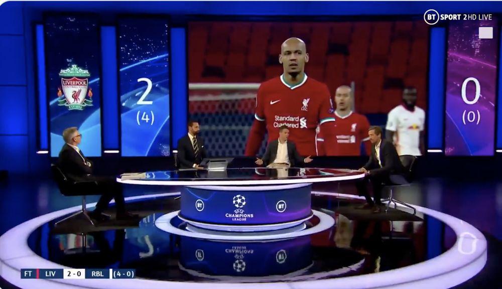 (Video) BT Sport's analysis of Fabinho's MOTM display is superb