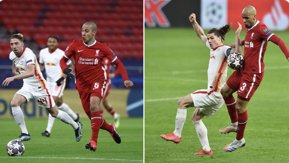 Thiago says 'great' Fabinho will unlock his creative side, but says he's not been good enough at Liverpool so far