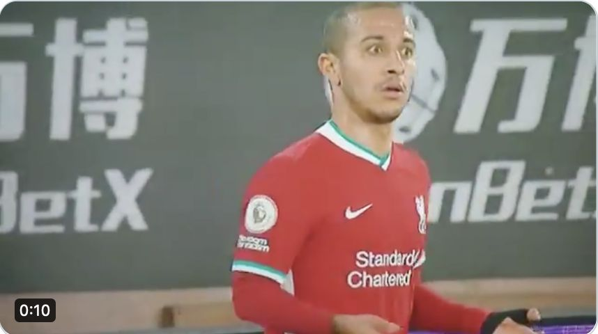 (Video) Thiago highlights v Wolves show he was actually better than many thought…