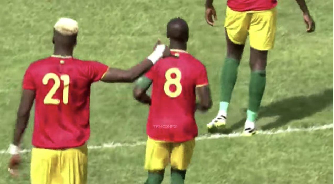 (Video) Naby Keita highlights v Mali: LFC's no.8 kicked throughout 90 minutes