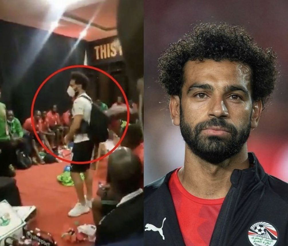 (Video) Mo Salah shows class by what he did in Kenyan dressing room post Egypt draw