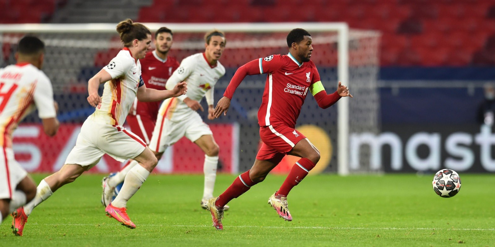 Wijnaldum looks to Champions League to 'rescue this season' for Liverpool