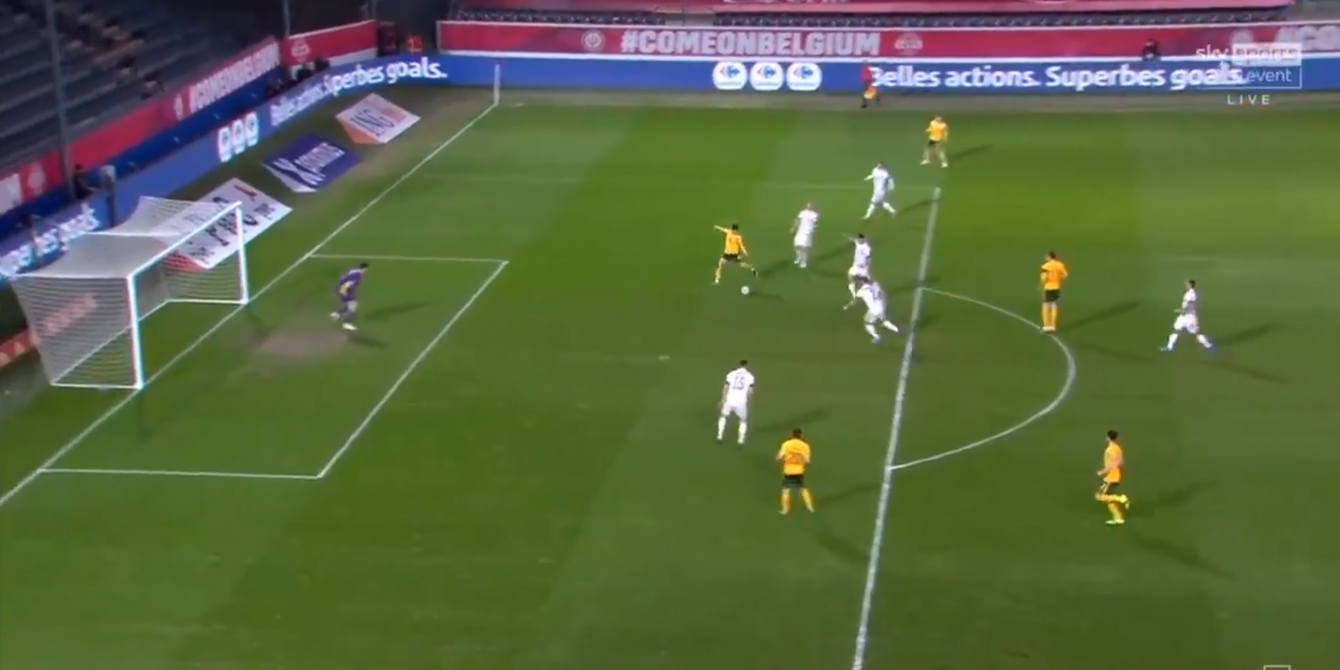 (Video) Harry Wilson finishes wonderful one-touch team move to put Wales ahead v Belgium
