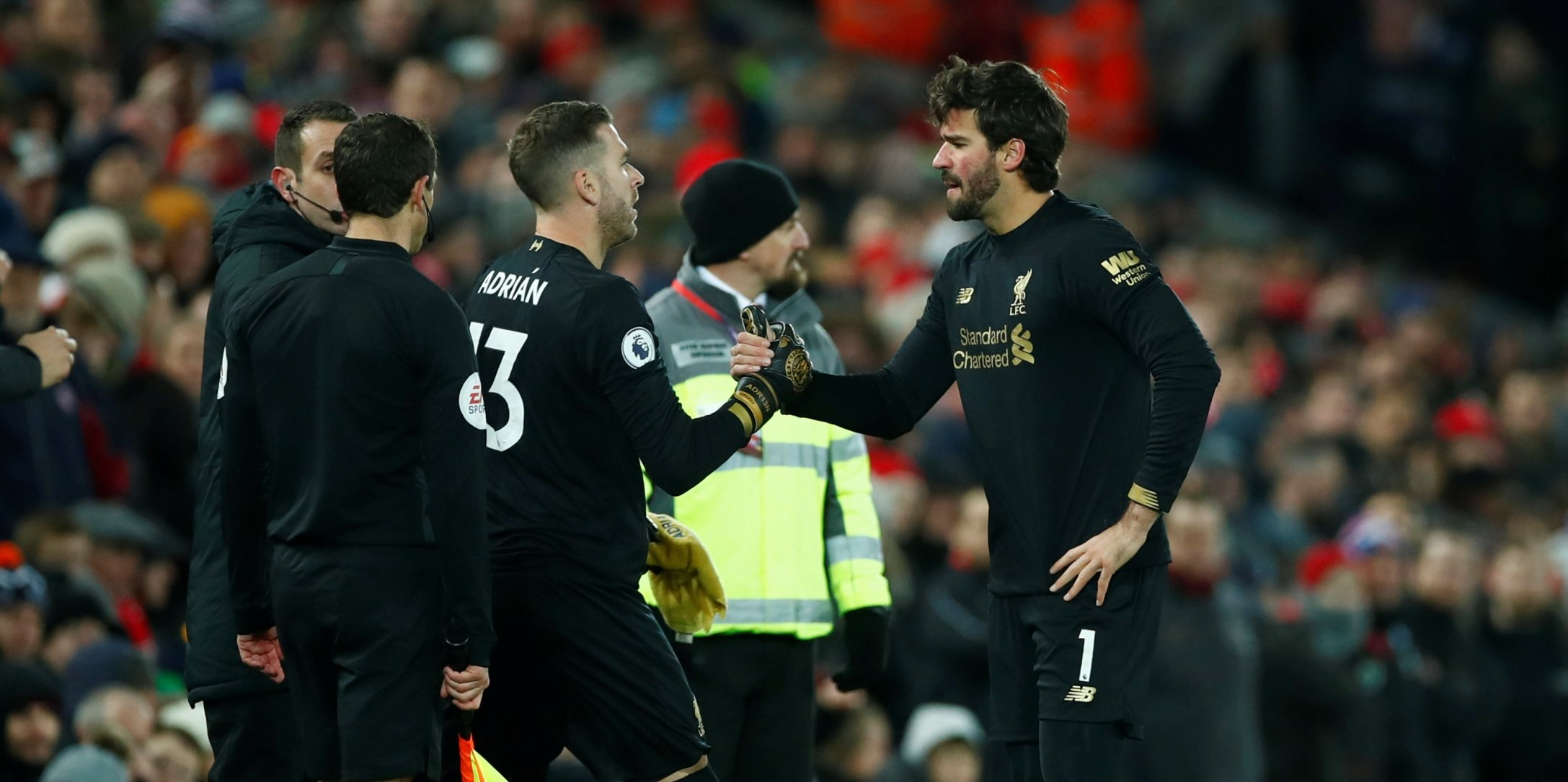 Adrian dedicates clean sheet to Alisson as Liverpool claim first win since January
