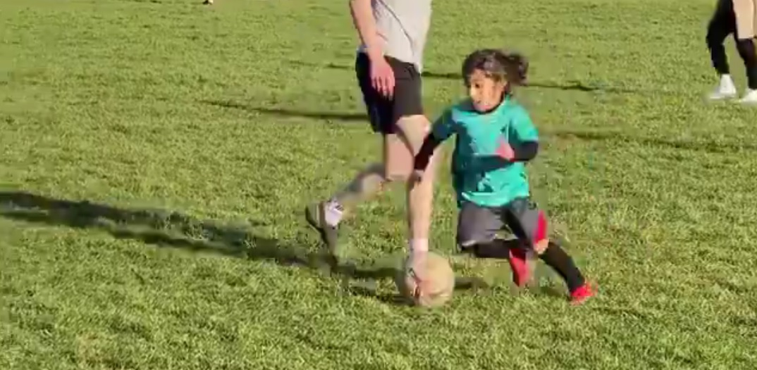 (Video) Seven-year-old Liverpool wonderkid nutmegs adult goalkeeper in outrageous clip