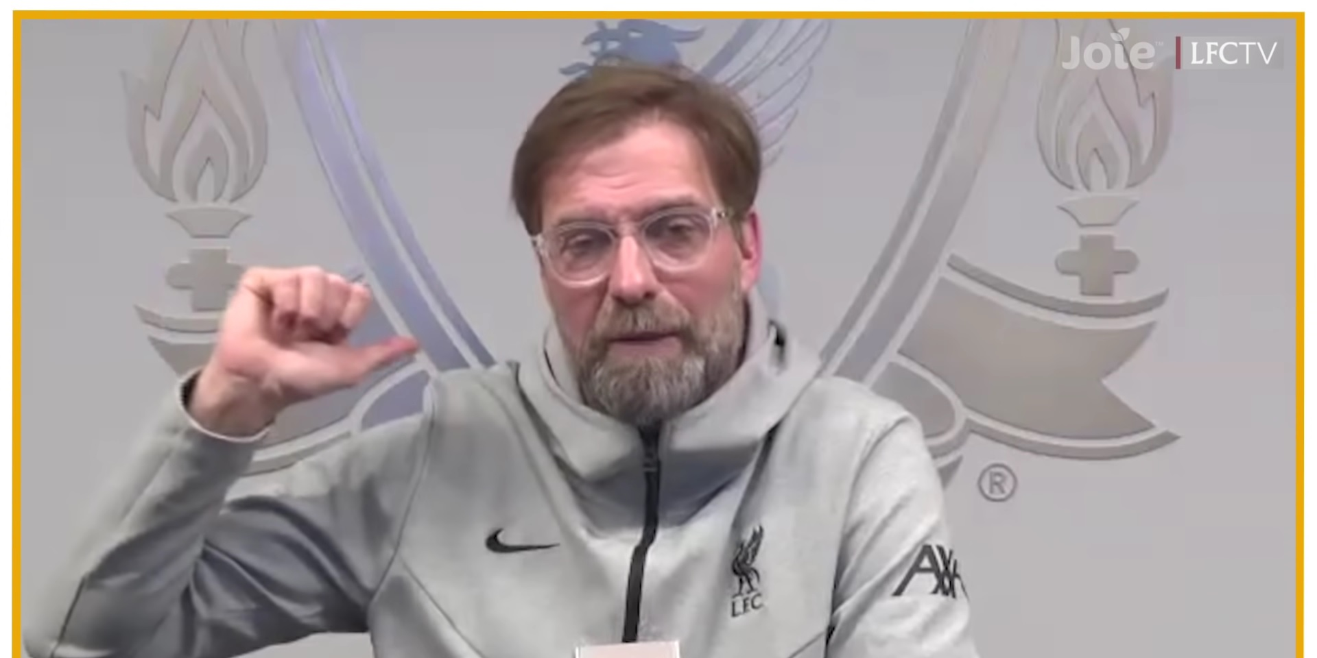 "(Video) Jurgen Klopp describes his favourite player: ""He was a centre-half at my club"""