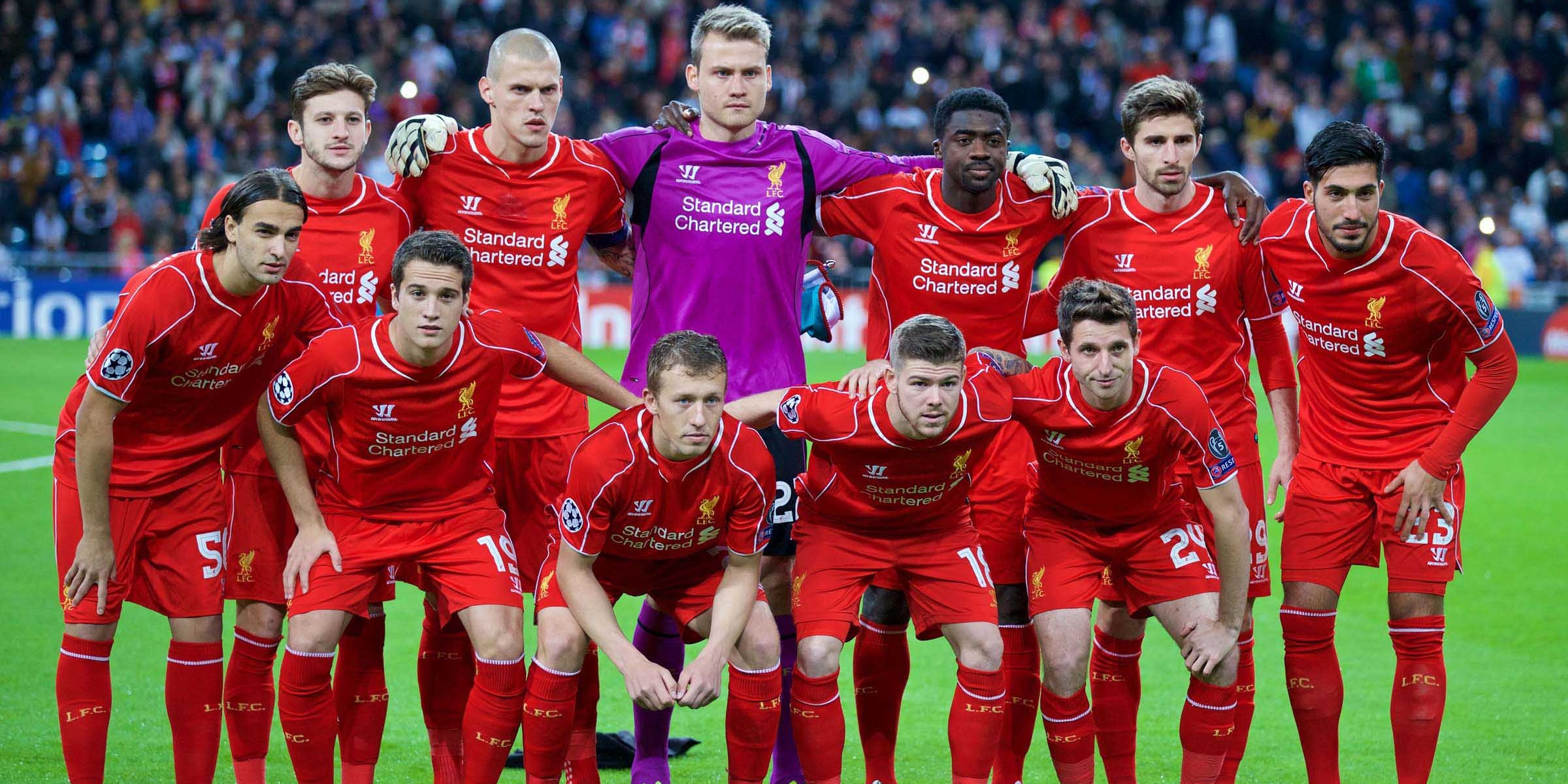 Liverpool XI v. Real Madrid in 2014 – where they are now