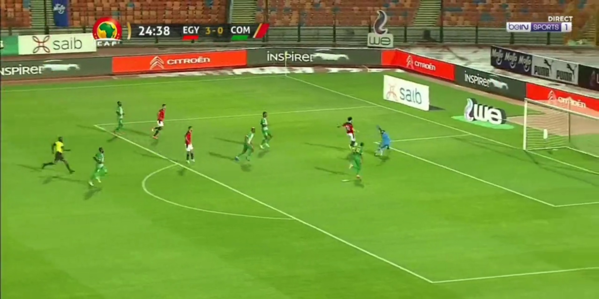 (Video) Mo Salah bags quick-fire brace as Egypt fly in AFCON qualifier