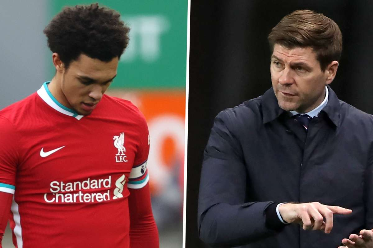 Gerrard says Southgate has made a mistake and let Trent Alexander-Arnold down