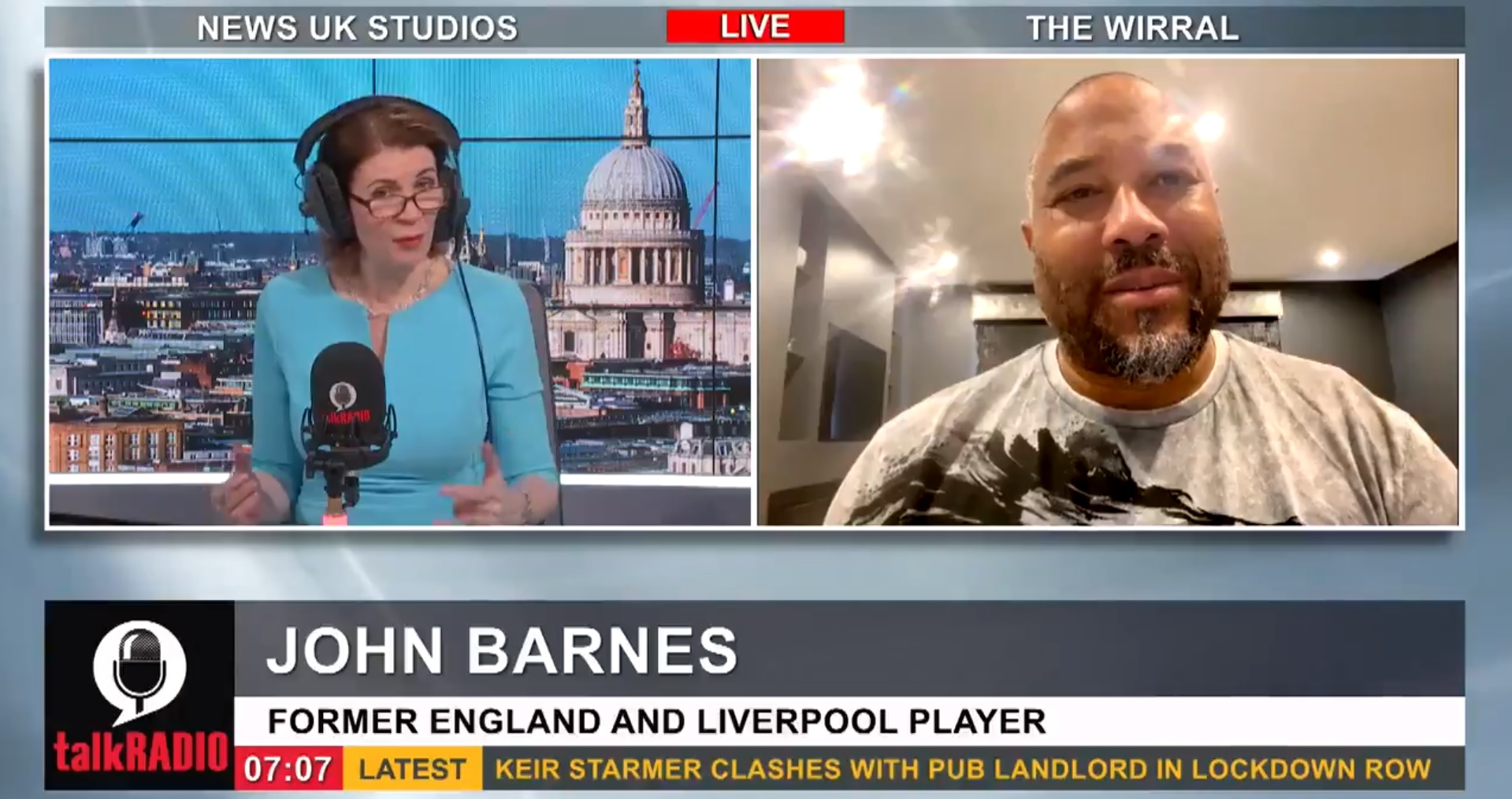 (Video) 'It's a victory for whoever wins can exploit football fans' – Barnes warns Super League exit not a victory for fans