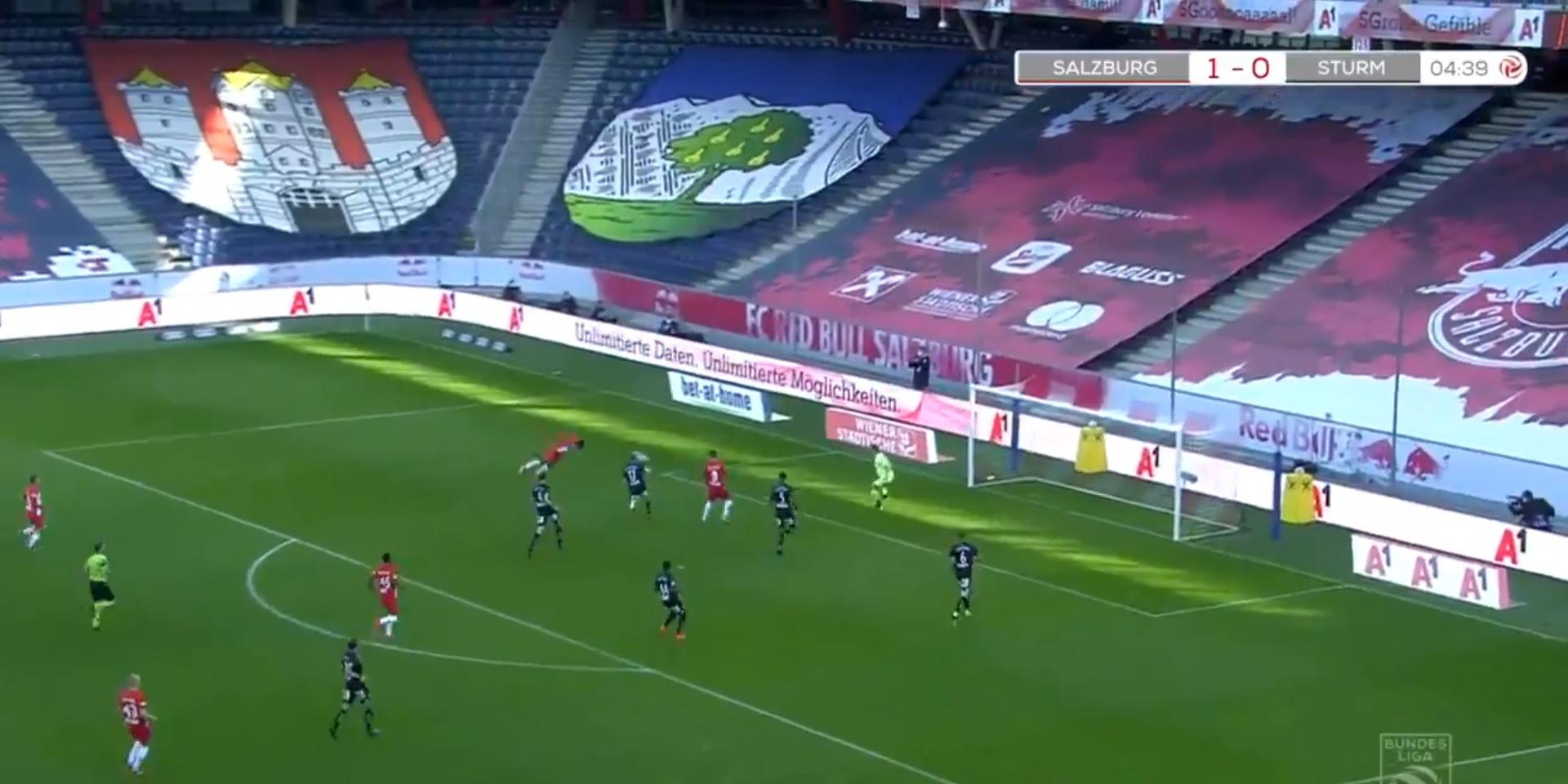 (Video) LFC-linked Patson Daka scores 11-minute hat-trick to make history
