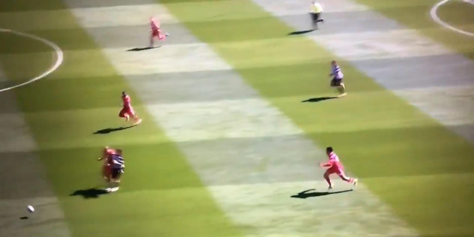 Newcastle star hits social media with joke at Fabinho's expense