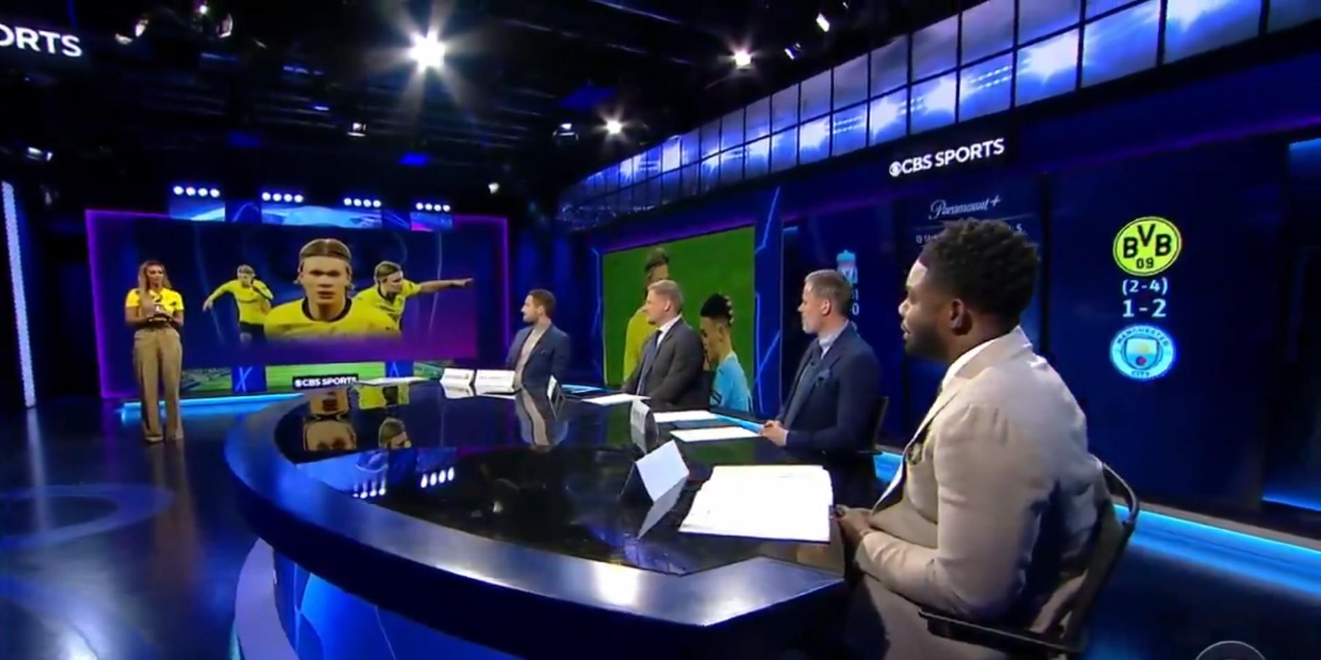 (Video) Carragher argues Liverpool the best destination for Haaland; kickstarts pundit argument