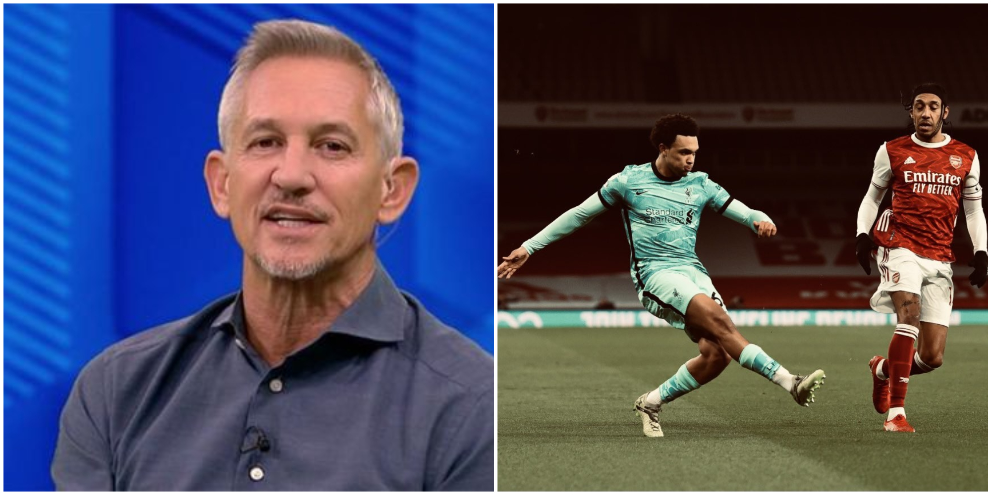 Lineker lauds Trent's 'perfect response' to 'bizarre' England omission as fullback shows Southgate what he's missing