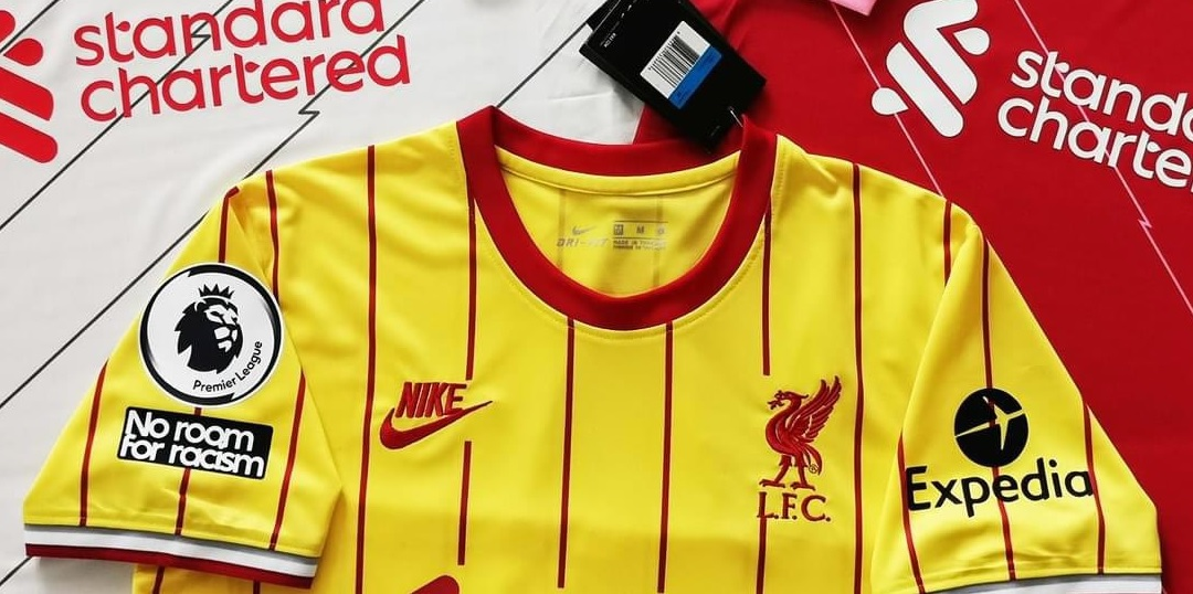 (Image) New image released of three rumoured Liverpool Nike Kits for 2021/22 with badges