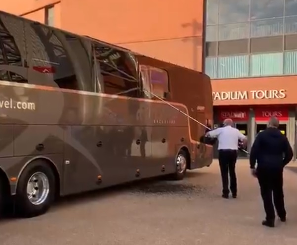 Liverpool condemn 'unacceptable and shameful behaviour' after Real Madrid team bus damaged