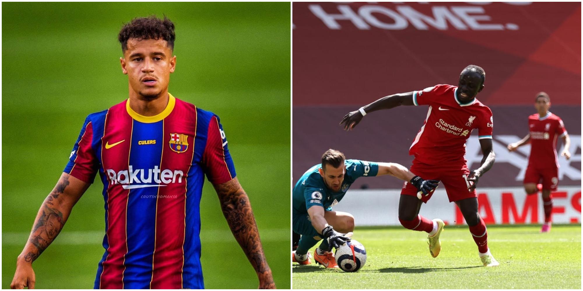 Liverpool fan makes excellent Mane point with Coutinho comparison