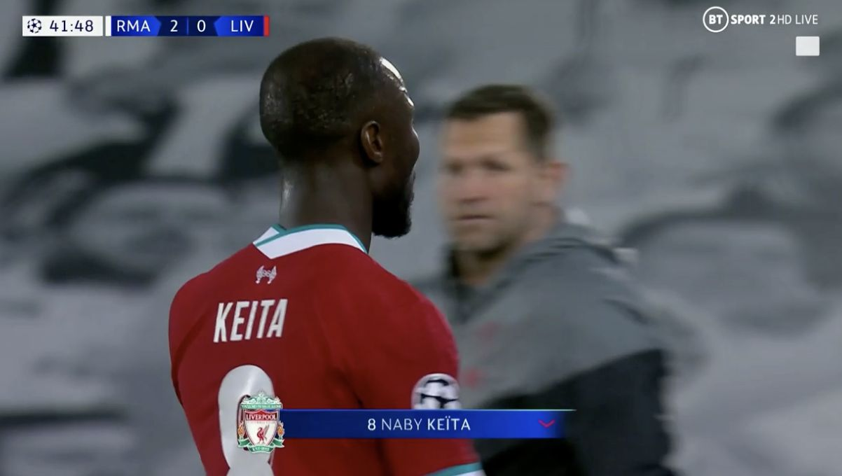 Naby Keita didn't look bothered and other takeouts from 'The Malaise in Madrid'