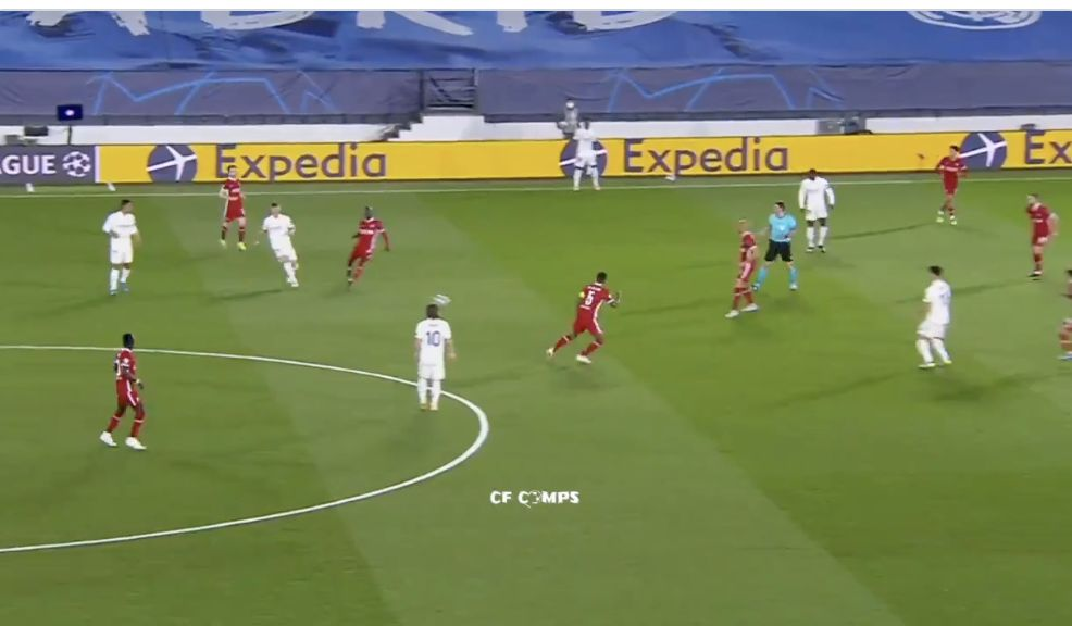 (Video) Toni Kroos slicing through Liverpool's midfield and defence on multiple occasions