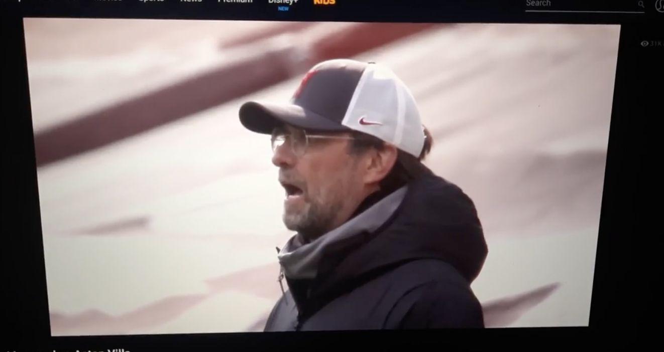 (Video) Latest stupid offside breaks Jurgen Klopp: LFC boss flabbergasted on touchline