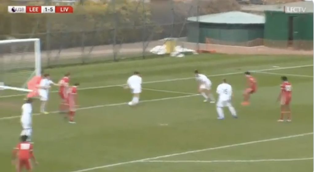 (Video) Musialowski scores another Messi-goal in 6-1 hammering of Leeds U18s