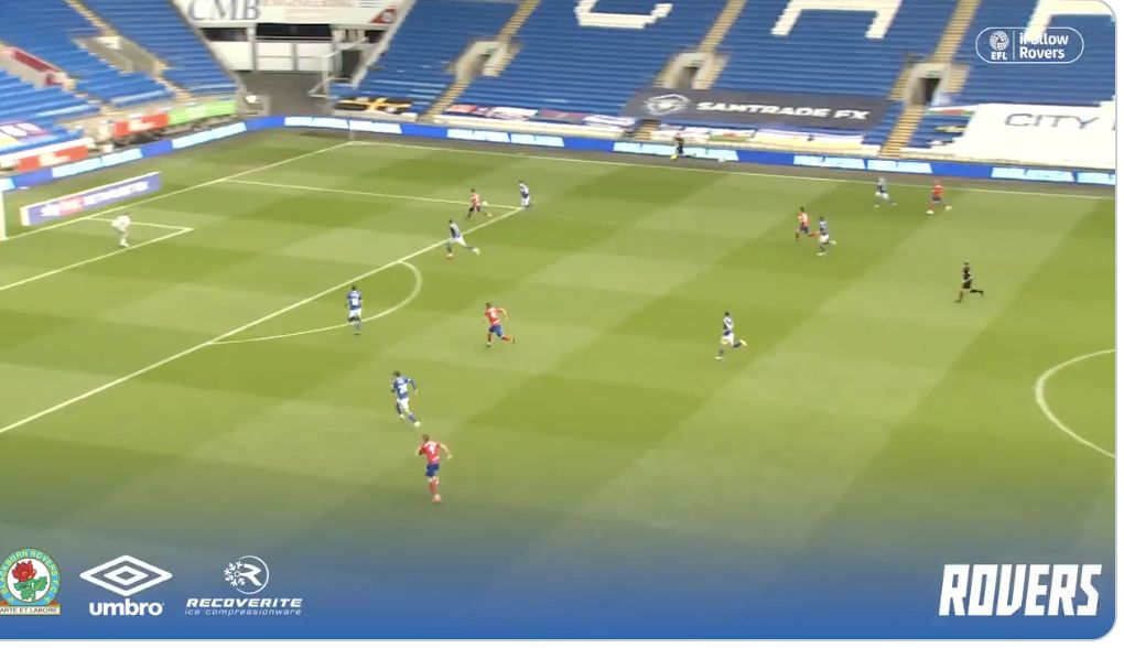 (Video) Harvey Elliott's 11th assist of the season for Blackburn Rovers from the weekend