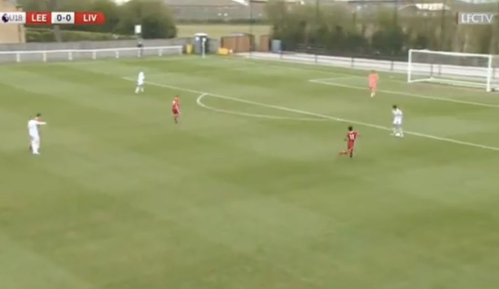 (Video) Kaide Gordon gets brace for LFC U18s, this time all thanks to high-pressing