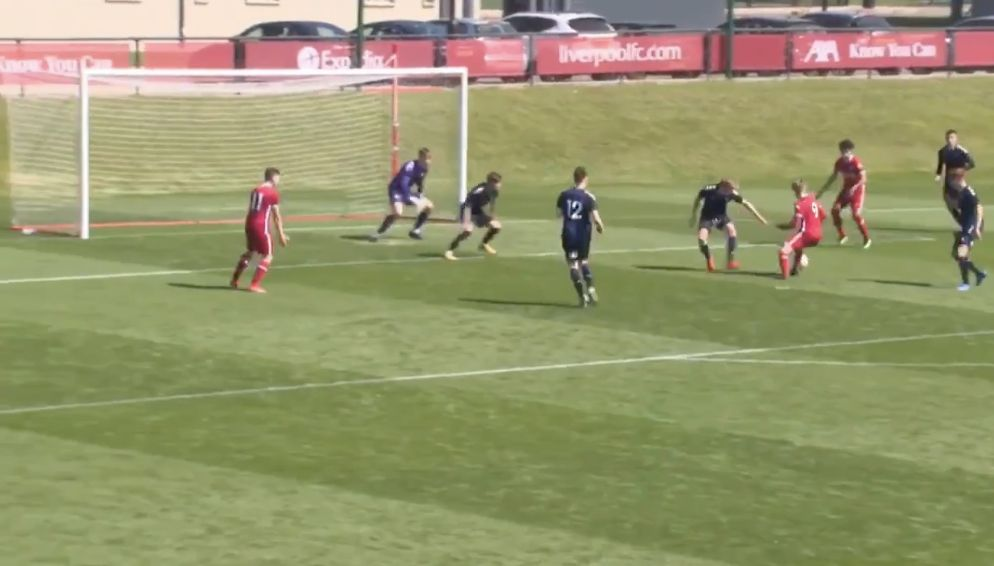 (Video) Max Woltman's 11th goal of season shows LFC U18s have an underrated talent in their midst