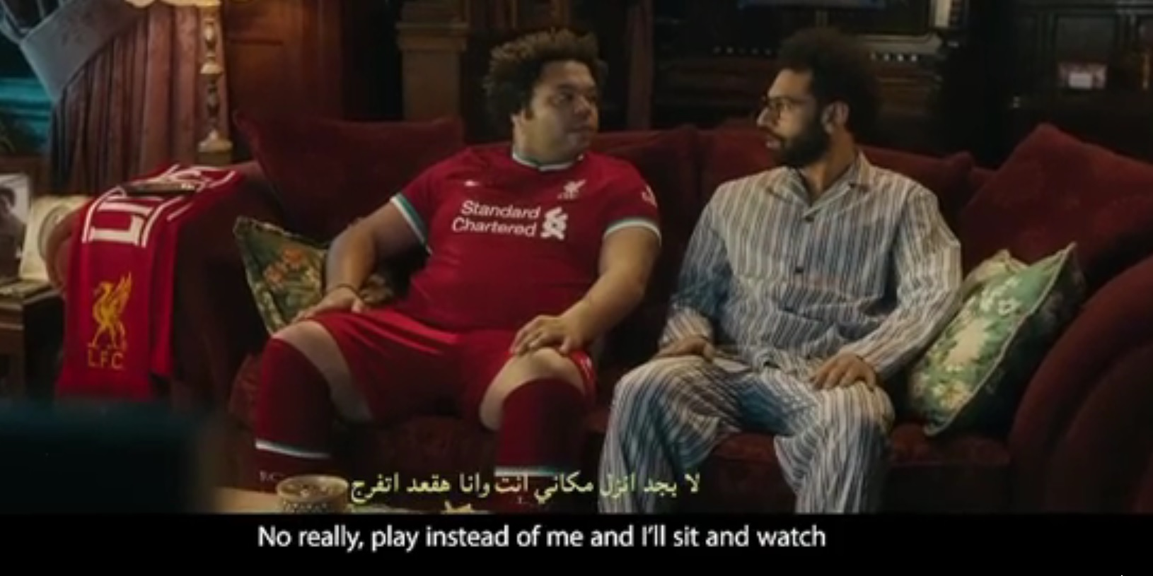(Video) Salah stars in hilarious new ad poking fun at social media know-it-alls